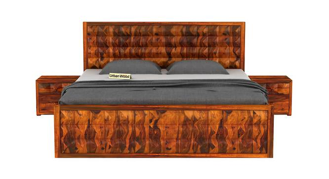 Morgana Storage Bed (King Bed Size, Matte Finish) by Urban Ladder - Front View Design 1 - 373410
