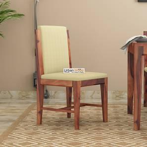 Winston dining chair teak finish color matte finish lp