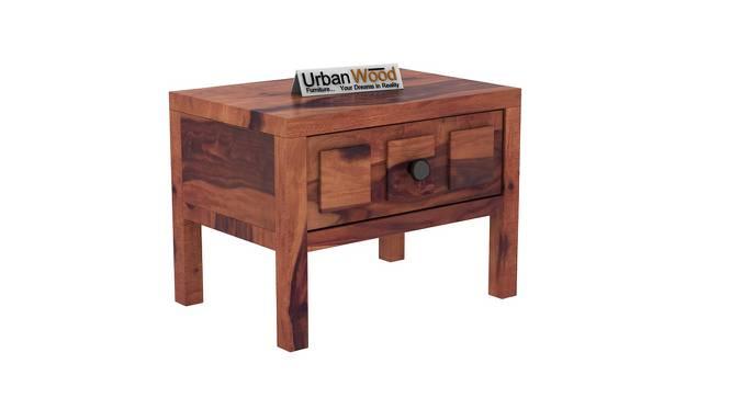 Winslow Bedside Table (Teak) by Urban Ladder - Cross View Design 1 - 373465