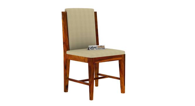 Winston Dining Chair (HONEY, Matte Finish) by Urban Ladder - Cross View Design 1 - 373469