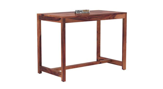 Stoinis Study Table (Teak, Matte Finish) by Urban Ladder - Cross View Design 1 - 373477