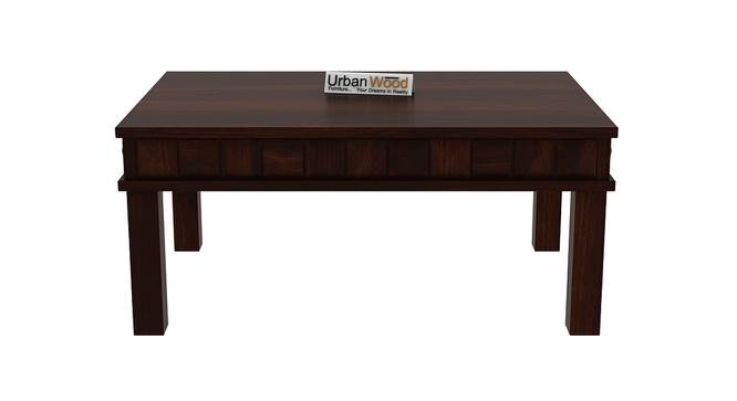 Sylvia Coffee Table (Walnut, Matte Finish) by Urban Ladder - Front View Design 1 - 373487