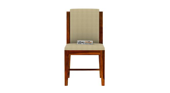 Winston Dining Chair (HONEY, Matte Finish) by Urban Ladder - Front View Design 1 - 373488