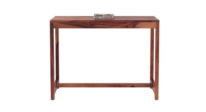 Stoinis Study Table (Teak, Matte Finish) by Urban Ladder - Front View Design 1 - 373496