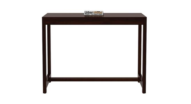 Stoinis Study Table (Walnut, Matte Finish) by Urban Ladder - Front View Design 1 - 373497
