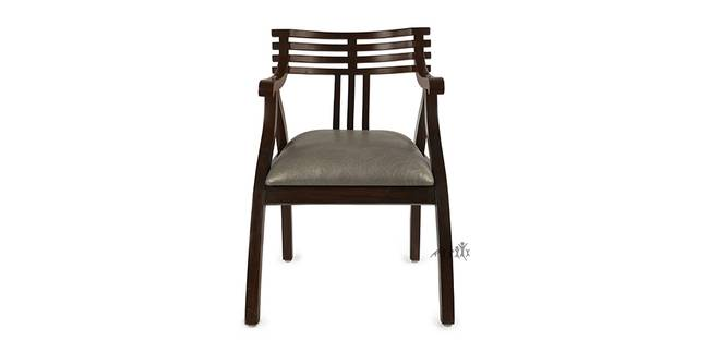 Pahal Wooden Sofa - Walnut (1-seater Custom Set - Sofas, None Standard Set - Sofas, Regular Sofa Size, Regular Sofa Type, Walnut, Solid_Wood Sofa Material)