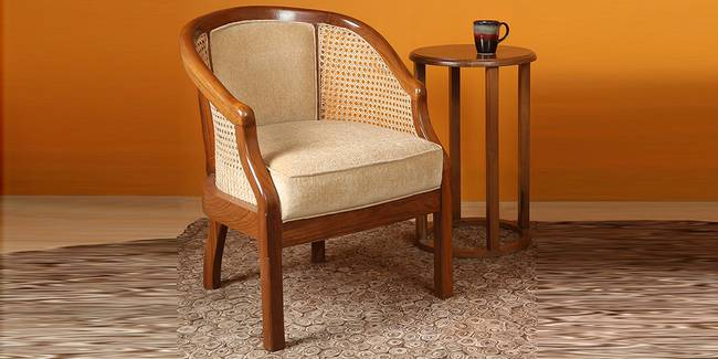 Rachita Wooden Sofa - Teak (1-seater Custom Set - Sofas, None Standard Set - Sofas, Regular Sofa Size, Regular Sofa Type, Teak, Solid_Wood Sofa Material)
