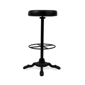 Cersei bar stool black finish lp