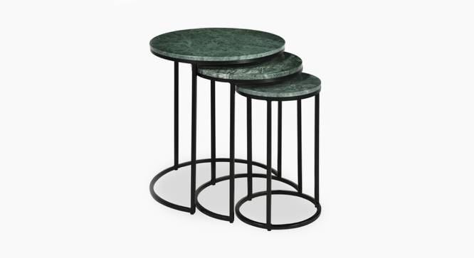 Lennox Nesting Table (Green & Black, Black & Green Finish) by Urban Ladder - Cross View Design 1 - 374356