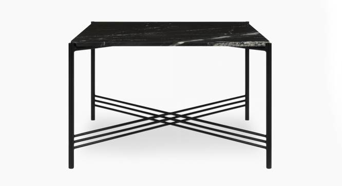 Ginny Coffee Table (Black, Black Finish) by Urban Ladder - Front View Design 1 - 374359