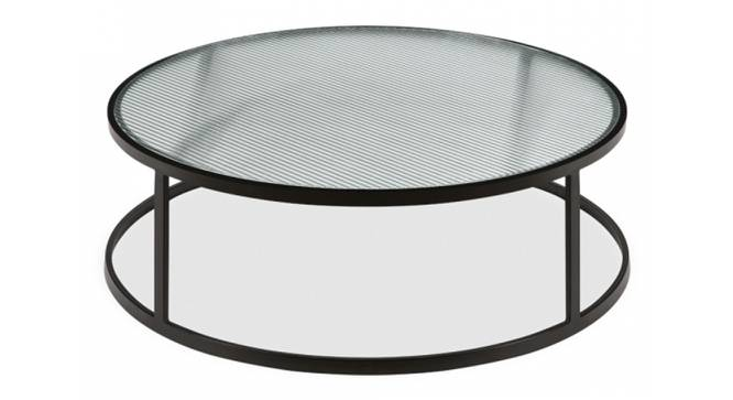Annis Coffee Table (Black, Black Finish) by Urban Ladder - Front View Design 1 - 374365