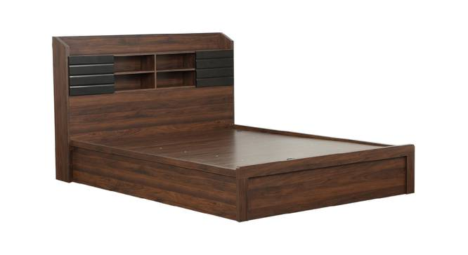Babar Storage Bed (Queen Bed Size, Brown Finish) by Urban Ladder - Cross View Design 1 - 374527