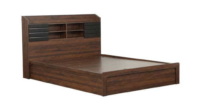 Banyak Storage Bed (King Bed Size, Brown Finish) by Urban Ladder - Cross View Design 1 - 374530