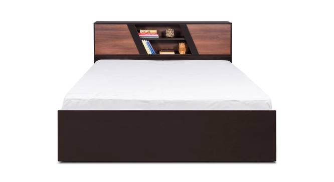 Amorgos Bed (Brown, King Bed Size, Brown Finish) by Urban Ladder - Front View Design 1 - 374538