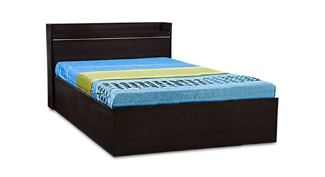 Boracay Storage Bed (Queen Bed Size, Brown Finish) by Urban Ladder - Cross View Design 1 - 374619