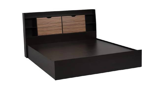 Cythera Storage Bed (King Bed Size, Brown Finish) by Urban Ladder - Front View Design 1 - 374630