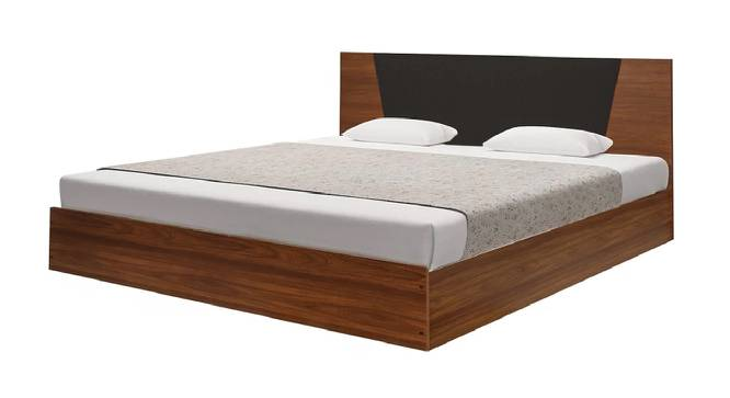 Corsica Storage Bed (King Bed Size, Brown Finish) by Urban Ladder - Front View Design 1 - 374632