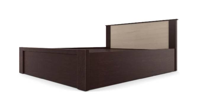 Euboea Storage Bed (King Bed Size, Brown Finish) by Urban Ladder - Front View Design 1 - 374705