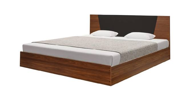 Ithaca Storage Bed (Queen Bed Size, Brown Finish) by Urban Ladder - Front View Design 1 - 374706