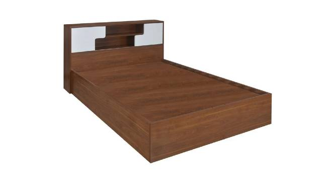 Leucas Storage Bed (King Bed Size, Brown Finish) by Urban Ladder - Cross View Design 1 - 374774