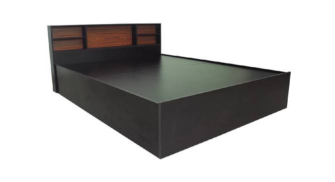 Lemnos Storage Bed (King Bed Size, Brown Finish) by Urban Ladder - Cross View Design 1 - 374775