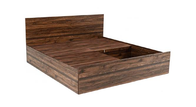 Kea Storage Bed (King Bed Size, Brown Finish) by Urban Ladder - Front View Design 1 - 374784