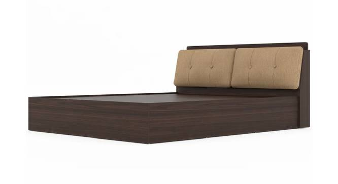 Madeira Storage Bed (King Bed Size, Brown Finish) by Urban Ladder - Front View Design 1 - 374789