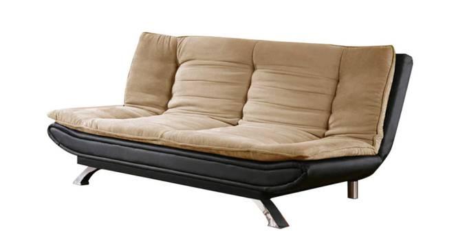 Madison Sofa Cum (Grey & Black, Black & Grey Finish) by Urban Ladder - Front View Design 1 - 374792