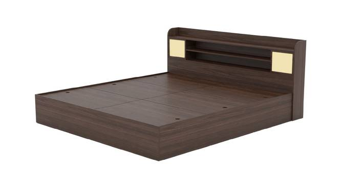 Palawan Storage Bed (King Bed Size, Brown Finish) by Urban Ladder - Front View Design 1 - 374962
