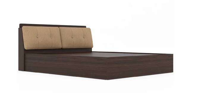 Skyros Storage Bed (Queen Bed Size, Brown Finish) by Urban Ladder - Cross View Design 1 - 375030