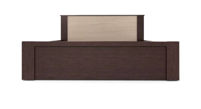 Thera Storage Bed (Queen Bed Size, Brown Finish) by Urban Ladder - Front View Design 1 - 375107