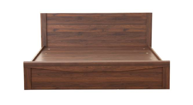 Aegean Bed (Brown, Queen Bed Size, Brown Finish) by Urban Ladder - Front View Design 1 - 375175
