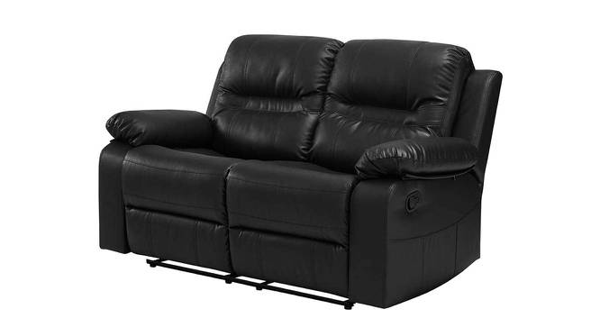 Aiden Manual Recliner (Black) by Urban Ladder - Front View Design 1 - 375181