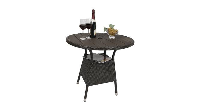 Blanch Outddor Dining Table (Brown, Matte Finish) by Urban Ladder - Cross View Design 1 - 375385