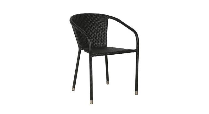 Darwin Outdoor Set (Black, Matte Finish) by Urban Ladder - Front View Design 1 - 375399