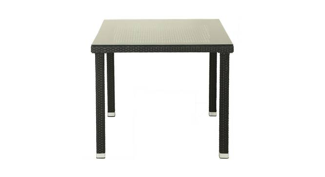 Dell Outdoor Dining Table (Brown, Matte Finish) by Urban Ladder - Front View Design 1 - 375400
