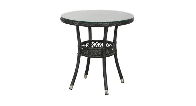 Harris Outdoor Coffee Table (Black, Matte Finish) by Urban Ladder - Cross View Design 1 - 375474