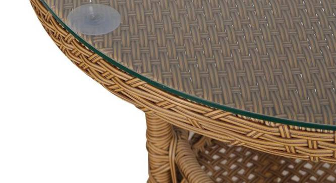 Harris Outdoor Coffee Table (Matte Finish, Biscuit) by Urban Ladder - Front View Design 1 - 375487