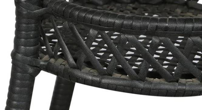 Harris Outdoor Coffee Table (Black, Matte Finish) by Urban Ladder - Front View Design 1 - 375488