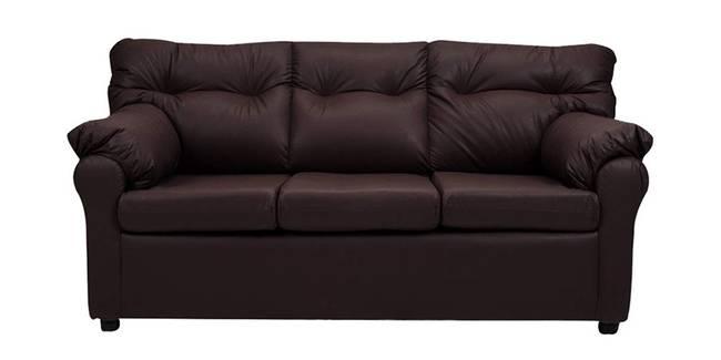 Nena Leatherette sofa - Brown (Brown, None Custom Set - Sofas, 3-2 Set Standard Set - Sofas, Leatherette Sofa Material, Regular Sofa Size, Regular Sofa Type)