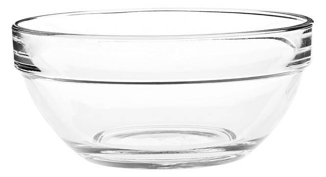 Anton Dessert Bowls Set of 6 (transparent) by Urban Ladder - Cross View Design 1 - 377240