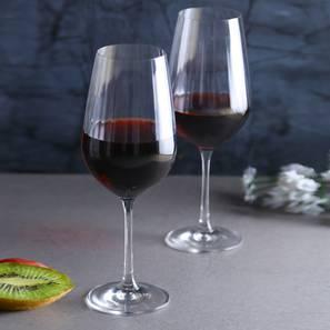 Brooks wine glass set of 6 transparent lp