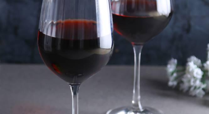 Brooks Wine Glass Set of 6 (transparent) by Urban Ladder - Cross View Design 1 - 377333