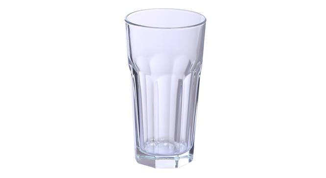 Burt Drinking Glass Set of 6 (transparent) by Urban Ladder - Cross View Design 1 - 377339