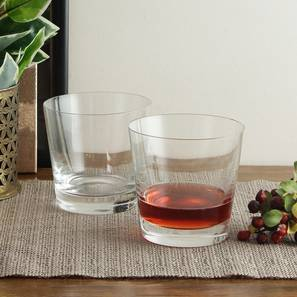 Claudia whiskey glass set of 6 transparent lp