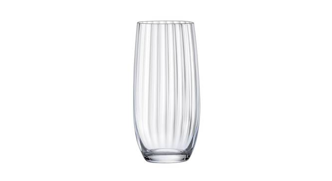 Club Drinking Glass Set of 6 (transparent) by Urban Ladder - Cross View Design 1 - 377382