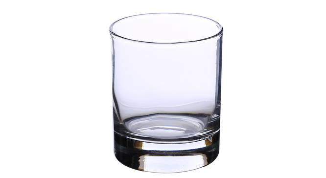 Classico Whiskey Glass Set of 6 (transparent) by Urban Ladder - Cross View Design 1 - 377389