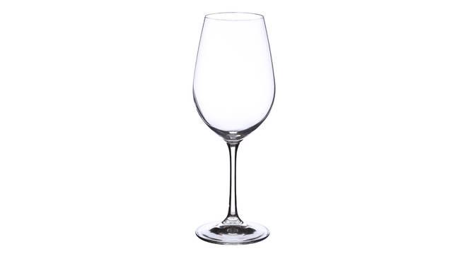 Elmer Wine Glass Set of 6 (transparent) by Urban Ladder - Front View Design 1 - 377428