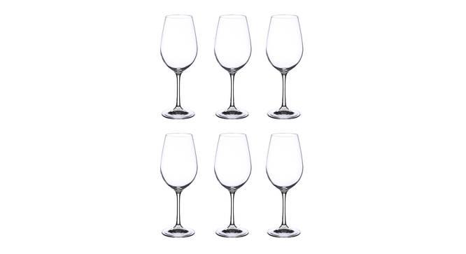 Elmer Wine Glass Set of 6 (transparent) by Urban Ladder - Cross View Design 1 - 377436