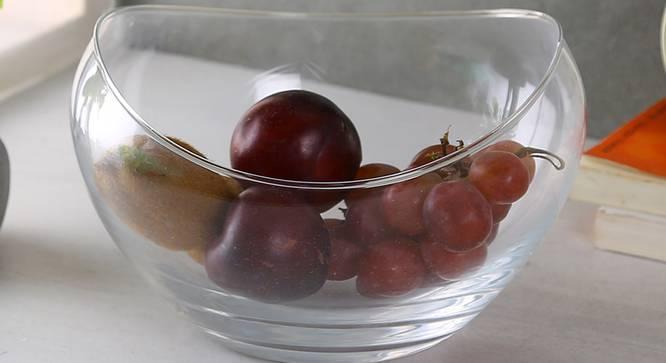 Gandola Dessert Bowl (transparent) by Urban Ladder - Front View Design 1 - 377530